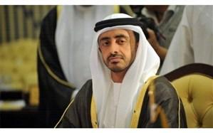 وزیر خارجه امارات: اقدامات کنونی ترکیه در جهان عرب مناسب نیست