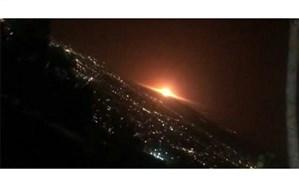 ماجرای انفجار بامداد امروز در شرق تهران