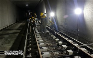 مترو تا پایان دولت در ایستگاه بهارستان