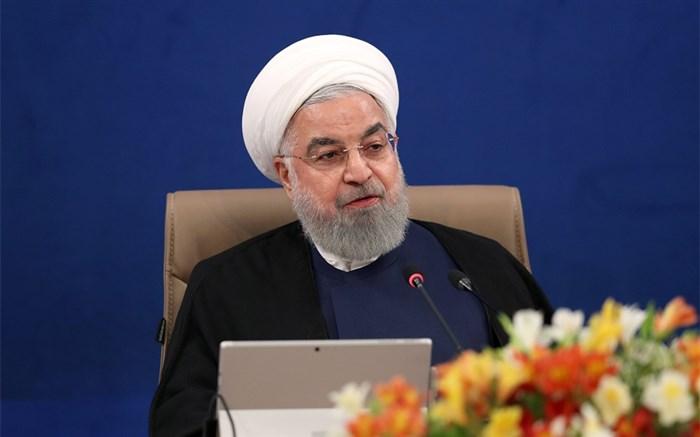روحانی: توسعه استانهای محروم از اهداف مهم دولت یازدهم و دوازدهم است