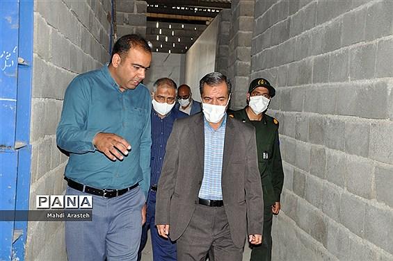 بازدید نماینده مردم شریف بیرجند از کشتارگاه درحال ساخت تمام صنعتی