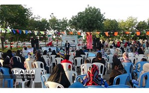 برگزاری جشن مبارزه با مواد مخدر در شیروان