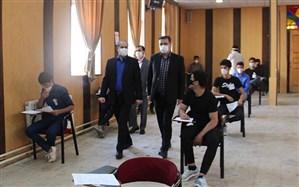 بازدید مدیرکل آموزش و پرورش استان همدان از حوزه های امتحان نهایی دانش آموزان پایه دوازدهم