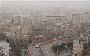 کیفیت هوای تهران، ناسالم برای گروههای حساس