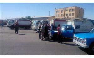 معاینه فنی خودروهای جمع آوری و حمل پسماندهای شهری