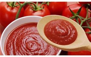 صادرات رب گوجه فرنگی تا پایان مهرماه آزاد شد