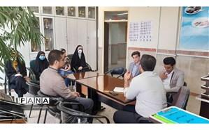 جلسه توجیهی دانش آموزان منتخب  مسابقات قرآن ،عترت و نماز ناحیه 2 بهارستان