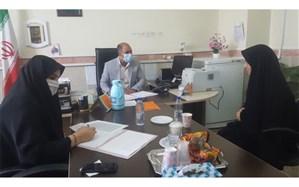 مصاحبه داوطلبین  پست مدیریت در آموزش و پرورش ناحیه 2 بهارستان