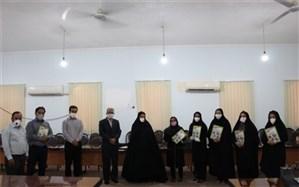 تجلیل از سرگروه های آموزش ابتدایی شهرستان تنگستان