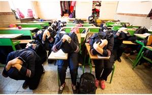 کسب رتبه ممتاز کشوری توسط سازمان دانش آموزی استان همدان دربرگزاری مانورسراسری زلزله