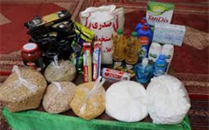 توزیع ۳۶۵ سبد غذایی بین نیازمندان شهرستان نیمروز