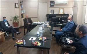 بازدید معاون تربیت بدنی و سلامت اداره کل شهر تهران از منطقه 9