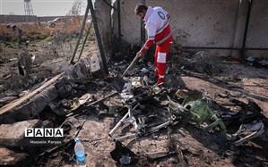 گرامیداشت یاد شهدا و گلباران محل سقوط هواپیمای اوکراین