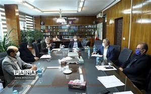 برگزاری نشست اداره سنجش و ارزیابی اداره نهضت سوادآموزی با حضور مدیرکل
