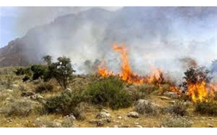 ششمین روز آتش سوزی در بوزین و مره خیل