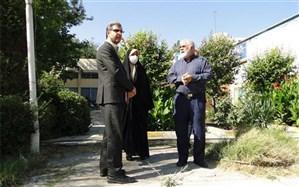 بازدید مدیر آموزش و پرورش منطقه 15  از کانون فرهنگی  تربیتی شهید مطهری