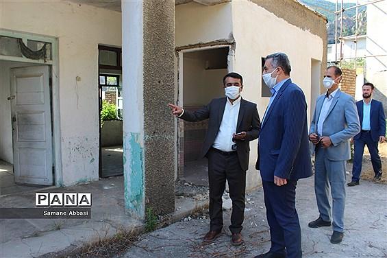 بازدید مدیرکل آموزش و پرورش مازندران از اجرای طرح گردشگری دانشآموزی در ورسک