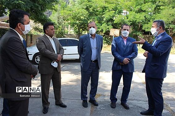 بازدید رییس و معاون سازمان دانشآموزی کشور از اجرای طرح گردشگری دانشآموزی در ورسک