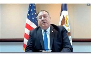 پمپئو: کمپین فشار حداکثری علیه ایران همچنان موثر است