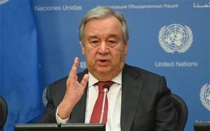 گوترش: نمیتوانیم برای اعمال تحریمهای ایران اقدام کنیم