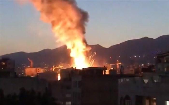 ۱۳ کشته و ۶ مصدوم بر اثر حریق در درمانگاه سینا اطهر تهران
