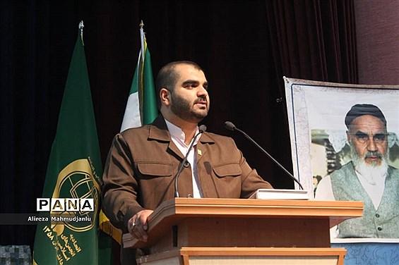 معارفه مسئول جدید  اتحادیه انجمنهای اسلامی دانش آموزان مازندران