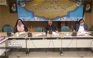 جلسه هم اندیشی دانش آموزان منتخب شورای دانش آموزی