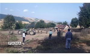 رفع تصرف 28 هکتار از اراضی ملی در میاندرود