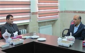 دیدار مدیرکل تامین اجتماعی استان با نماینده مردم خدابنده درمجلس شورای اسلامی