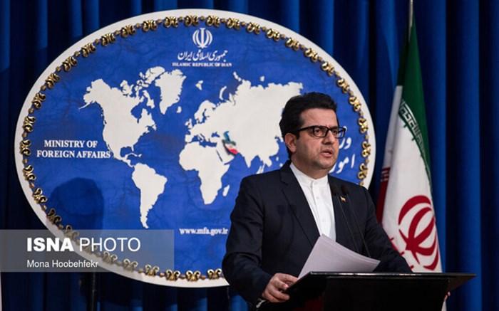 سخنگوی وزارت خارجه در پاسخ به هوک: گزینه نظامی روی میز آمریکاییها گزینهای کپک زده است