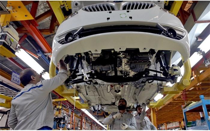 خط جدید تولید خودرو