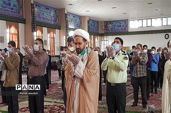 اقامه چهارمین نماز جمعه سال ۱۳۹۹ شهرستان خوسف