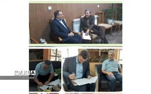 امضای تفاهم نامه ساخت آموزشگاه شش کلاسه  روستای سررود شهرستان کلات