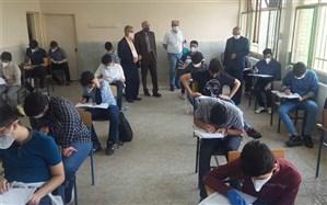 محسنی نسب از حوزه های آزمون ورودی مدرسه البرز ماندگار بازدید کرد