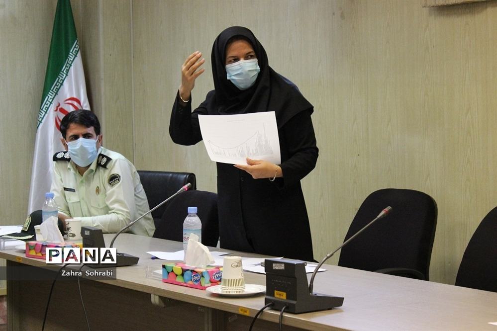 جلسه ستاد مقابله با ویروس کرونا شهرستان اسلامشهر