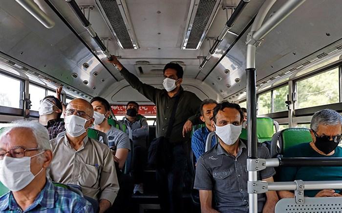 مسافران بدون ماسک
