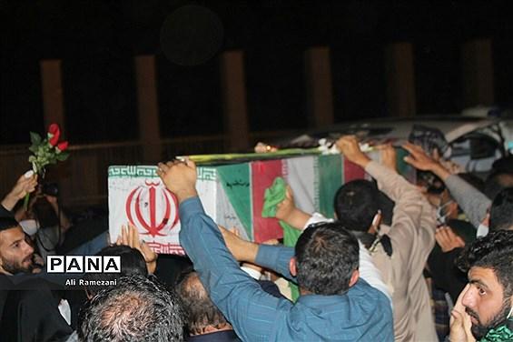 شب وداع با شهیدان مدافع حرم در پارک موزه دفاع مقدس مازندران