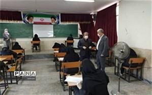 امتحانات نهایی منطقه17 با رعایت پروتکلهای بهداشتی به پایان رسید