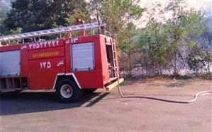 آتش بی مسئولیتی گردشگران بر قامت موزه میراث روستایی گیلان