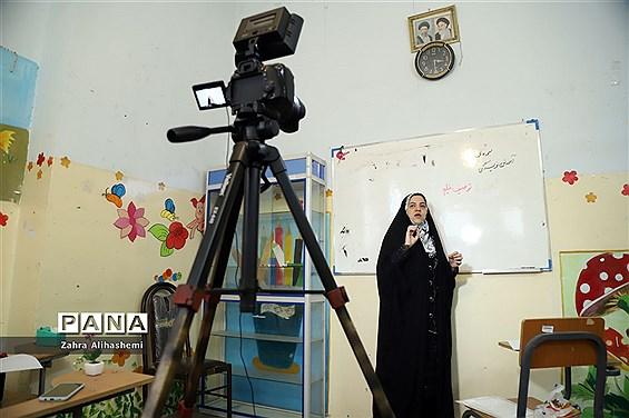 تولید محتوای سازمان دانشآموزی شهر تهران در منطقه 12