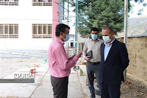 بازدید فرماندار و شهردار سوادکوه از پروژه مجتمع گردشگری دانشآموزی ورسک