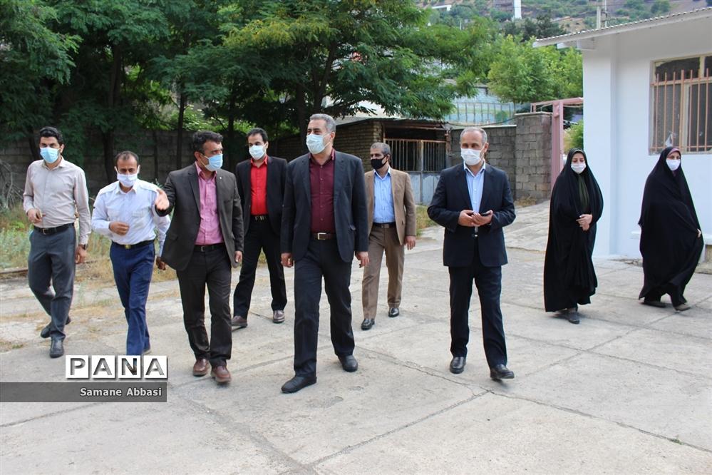 بازدید مدیرکل آموزش و پرورش مازندران از پروژه مجتمع گردشگری دانشآموزی ورسک
