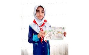 درخشش دانش آموز زبرخانی در پویش ملی با کتاب در خانه