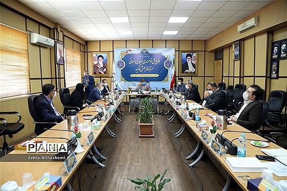 برگزاری کارگروه راهبری توسعه مدیریت ادارهکل شهر تهران