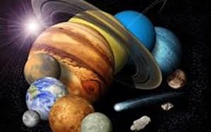 دانشمندان مرکز منظومه شمسی را پیدا کردند!
