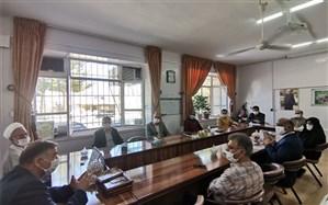 جلسه هماهنگی رزمایش همدلی و کمک مومنانه به همت کانون بسیج فرهنگیان شهرستان زبرخان برگزار شد