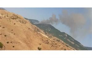 شروع مجدد آتش سوزی در مراتع مشرف به جنگل های ارسباران