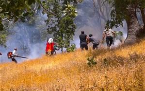 مهار ۹۰ درصدی آتشسوزی مراتع ارسباران