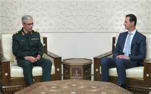 سردار باقری با بشار اسد دیدار کرد