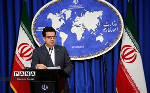 سخنگوی وزارت خارجه: قرداد با چین بسیار افتخارآمیز است